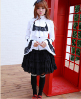 Cosplay women's wear jacket goods in stock Over 14 years old White, black original L,M,S,XL Chinese Mainland