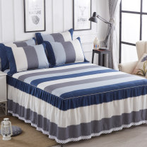 Bed skirt cotton Jiuzhou Island Plants and flowers Qualified products HBCQ-001