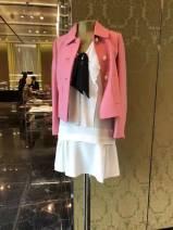 woolen coat Spring 2017 XS,S,M,L,XL Black, pink wool 51% (inclusive) - 70% (inclusive)
