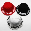 Hat Average size White, red, black 48-51cm (refer to 1-5 years old) neutral Fisherman hat flat roof leisure time Other / other Wide eaves Pure cotton (95% and above)