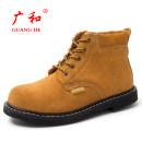 Protective footwear 3637383940414243444546 Orange brown dark brown Guang He Xie Ye / Guang he 1.1KG 33*22*12cm