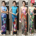 National costume / stage costume Spring 2015 Red, dark blue, light green, rent one day, renew one day, new sale / deposit, pink, purple white, dark red, carp, lotus, plum blossom, blue butterfly S,M,L,XL,XXL