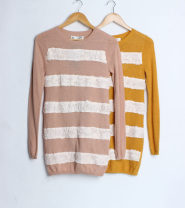 Wool knitwear Autumn of 2019 85 / m, 90 / L, 95 / XL Pink / flavored as described on the details page, turmeric / flavored as described on the details page other 71% (inclusive) - 80% (inclusive)