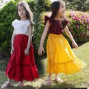Dress Purple + yellow stitching fake two dresses, white + red stitching fake two dresses female Other / other 110cm,120cm,130cm,140cm,150cm,160cm,165cm Cotton 90% other 10% summer Korean version other Cotton blended fabric Splicing style 14, 13, 12, 11, 10, 9, 8, 7, 6, 5, 4, 3, 2, 12, 18 months