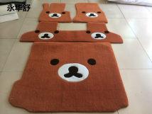 Special car foot pad intense Five seats only other Footmats remarks footmats + trunk Polyester / polyester / Pet 100% Yonghuashu Yonghuashu tt-320 bmw X1 (import) X3 (import) X4 (import) X5 (import) X6 (import)