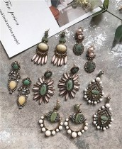 Earrings Alloy / silver / gold RMB 25-29.99 Aunt a tou E  6.5*4.4 B  2.2*6.4 A   5.3*2 C D 6.5*3.8 brand new goods in stock
