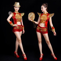 National costume / stage costume Winter 2016 gules SM can customize non return and exchange lxlxxlxxl, lxxxl and XXL DZM201611193 Daizermery / Dai Zimei 25-35 years old Polyethylene terephthalate (polyester) 100% Pure e-commerce (online only)