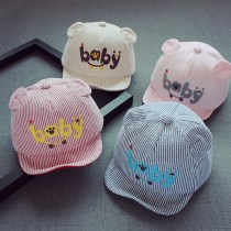 Hat Average size Navy beige pink light blue red Reference age: 4 months to 1 year, head circumference: 43-47cm neutral peaked cap dome Shopping Other / other Short eaves Cotton blended fabric