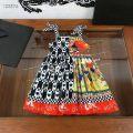Dress Dress female Other / other 90cm,100cm,110cm,120cm,130cm,140cm,150cm Cotton 100% spring and autumn Korean version Long sleeves lattice cotton A-line skirt Seven, eight, five, six, ten, nine Chinese Mainland