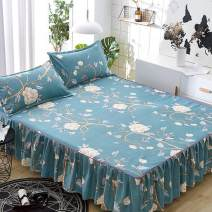 Bed skirt polyester fiber Other / other Plants and flowers Qualified products HYUIG