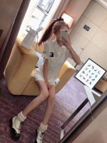 Dress White m, white red edge, black stripe, white C, black C, white L, black L female Other / other Average size Other 100% No season Solid color other A-line skirt Chinese Mainland
