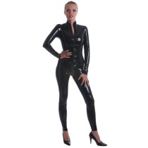 Body shaping suit Other / other black S (height about 160) m (height about 165) l (height about 170) XL (height about 175) Long sleeves routine Solid color sexy two million sixteen thousand five hundred and twenty-eight trousers other summer