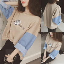 Sweater / sweater Autumn 2016 Picture color Average size Long sleeves Socket routine singleton  routine Crew neck easy commute routine 40-49 years old