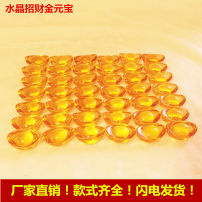 Ornaments Artificial crystal Yuanbao Modern Chinese style Tabletop ornaments Living room bedroom Drow crystal Solicit wealth ZESJ-230 Handmade