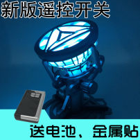 Others Over 3 years old goods in stock MK3 reactor MK6 reactor MK6 reactor + exhibition box MK3 reactor + exhibition box transparent exhibition box New box U.S.A Marvel comic series PVC series Iron Man 1-1 chest lamp