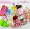 Doll / accessories parts 2 years old, 3 years old, 4 years old, 5 years old, 6 years old, 7 years old, 8 years old, 9 years old, 10 years old, 11 years old, 12 years old, 13 years old, 14 years old and above Dai LAN doll China 11 cm 12 cm doll can be worn Random 5 pieces random 1 piece