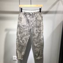 Casual pants fashion City Camouflage apricot Camouflage green Other /other 28 29 30 31 32 33 34 36 100% other Other leisure Self-cultivation Cropped pants