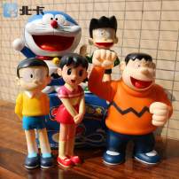 Doll / Ornament / hardware doll goods in stock Large 5 medium 6 small 5 small Doraemon with me (boxed) comic Japan goods in stock PVC Doraemon / robotic cat Home furnishings, desktop furnishings, car furnishings static state MEDICOM TOY Doraemon Doraemon family photo collection