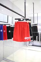 Casual pants Others Fashion City Black red XS S M L Shorts (up to knee) motion easy