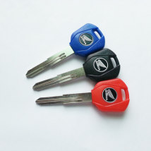 Motorcycle key Red blue