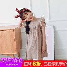 Dress Decor Bear after bear female 7, 9, 11, 13, 15 Cotton 80% other 20% summer Versatile Short sleeve other cotton sixty thousand three hundred and seventy-one