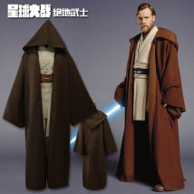 National costume / stage costume Spring 2018 Jedi Knights suit cloak black Jedi Knights suit cloak color S M L XL XXL Man clothing Polyester 91% (inclusive) - 95% (inclusive)