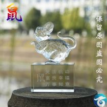 Ornaments Artificial crystal animal other Z8