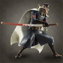 Doll / Ornament / hardware doll goods in stock comic Japan 23cm high PVC One piece The joints are movable Blackbeard