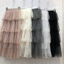 skirt Autumn 2020 Average size Mid length dress commute High waist Cake skirt Solid color Type A 18-24 years old 51% (inclusive) - 70% (inclusive) other other Splicing Korean version 41g / m ^ 2 (including) - 60g / m ^ 2 (including)