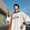 T-shirt Youth fashion White, Navy green routine M L XL Others Short sleeve Hood easy Other leisure summer teenagers raglan sleeve Exquisite Korean style other 2018 Solid color Embroidery cotton other other More than 95%