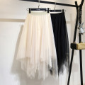 skirt Summer 2021 The skirt length is 84cm ~ the recommended height is 153-161cm, and the skirt length is 91cm ~ the recommended height is 162-175cm Grey, black, apricot longuette Versatile High waist Irregular Solid color Type A 25-29 years old 1398J1316 71% (inclusive) - 80% (inclusive) other other