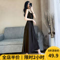 Women's large Summer 2021 Black / explosive / chic/ / design / sense of age / weight / age / apricot [spring / autumn / new clothes / Euramerican / net red fried street / French Platycodon / tea break / salt / sweet / first love / big breasted girl wear / Japanese style] Dress singleton  commute easy
