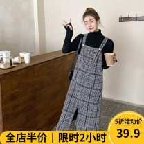 Women's large Winter 2020 Two piece set Sweet easy moderate Socket Long sleeves other Half high collar routine routine 12-22C8469-XX Beauty mark 18-24 years old Medium length Viscose (viscose) 100% Pure e-commerce (online only) solar system