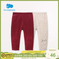 trousers Les enfants female 66cm 73cm 80cm 90cm Khaki red spring and autumn trousers leisure time No model Casual pants Leather belt middle-waisted other Open crotch Cotton 73.8% polyester 26.2% A2C3000001 Class A A2C3000001 Autumn of 2019 12 months, 6 months, 9 months, 2 years old