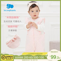 Jumpsuit / climbing suit / Khaki Les enfants Class A female light pink 59cm 66cm 73cm 80cm cotton spring and autumn Long sleeves lady There are models in the real shooting nothing Cotton 100% Socket A2E1000305 A2E1000305 Spring 2021 3 months 6 months 12 months 9 months