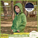 Plain coat Les enfants male 80/1Y 90/2Y 100/3Y 110/4Y 120/6Y 130/8Y Olive green spring and autumn leisure time Zipper shirt There are models in the real shooting routine No detachable cap Solid color other High collar A2D3010707 Polyester 100% Autumn 2020