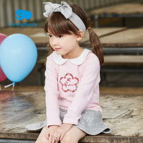 Dress light pink female Les enfants 80cm / 1-year-old 90cm / 2-year-old 100cm / 3-year-old 110cm / 4-year-old 120cm / 6-year-old 130cm / 8-year-old Other 100% spring and autumn leisure time Long sleeves other cotton other A2B3010204 Class B Autumn of 2018
