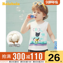Vest male 90cm 100cm 110cm 120cm 130cm Bala summer routine No model Socket leisure time Pure cotton (100% content) Cartoon animation Cotton 100% Class B other Summer 2020 Chinese Mainland They were 2 years old, 3 years old, 4 years old, 5 years old, 6 years old, 7 years old and 8 years old
