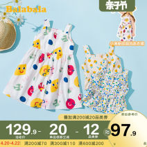 Dress female Bala 90cm 100cm 110cm 120cm 130cm Cotton 100% summer leisure time Skirt / vest Cartoon animation other other Class A Summer 2020 They were 2 years old, 3 years old, 4 years old, 5 years old, 6 years old, 7 years old and 8 years old Chinese Mainland Zhejiang Province Hangzhou