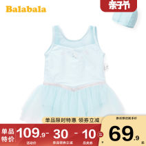 Bathing suit 90cm 100cm 110cm 120cm 130cm 140cm 150cm Other 100% Ice blue 8035 red key 0366-27672200214 Bala female Children's one piece swimsuit other Summer 2020 Chinese Mainland They were 2 years old, 3 years old, 4 years old, 5 years old, 6 years old, 7 years old, 8 years old and 9 years old