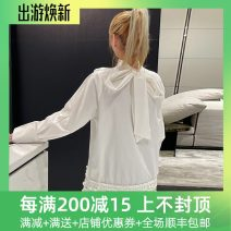 Dress Spring 2021 White spot, white pre-sale Average size Long sleeves Solid color routine 25-29 years old 212C00242 30% and below cotton