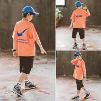 suit Babybody Orange haze blue 120cm 130cm 140cm 150cm 160cm 170cm male summer Korean version Short sleeve + pants 2 pieces routine There are models in the real shooting Socket nothing other other children Giving presents at school X21114 Class B Other 100% Summer 2021 Chinese Mainland Huzhou City
