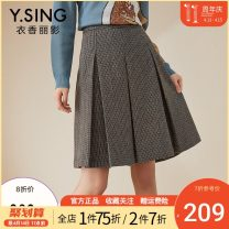 skirt Winter 2020 S,M,L,XL Black sugar coffee Middle-skirt commute Natural waist A-line skirt Type A 25-29 years old DSY0121BQ312 More than 95% gorgeous clothing other zipper Korean version