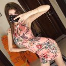cheongsam Summer 2021 S,M,L Black, pink Sleeveless Short cheongsam Retro High slit daily woman's dress buttoned down from right armpit Decor 18-25 years old 51% (inclusive) - 70% (inclusive)