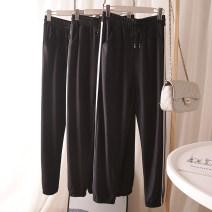 Casual pants Dark grey, black, navy M, L Autumn 2020 trousers Haren pants High waist routine othe