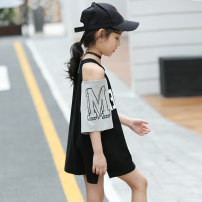 Dress Grey black Picosi female Other 100% summer Korean version Skirt / vest other other other 18XQZ09 Class B Summer of 2018