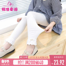 Children's socks (0-16 years old) Pantyhose Grey white pink black M (recommended height 110-120) l (recommended height 130-140) XL (recommended height 150-160) Mingjia fairy tales spring and autumn female other Polyester 100% 2101WZ007 Spring 2021 Korean version