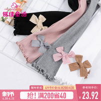Children's socks (0-16 years old) other Gray white pink black M (recommended height 110-120) l (recommended height 130-140) XL (recommended height 150-160) Mingjia fairy tales spring and autumn female Spring 2021 Korean version