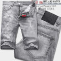 Jeans fashion City gray Dower me/dovemi 28 29 30 31 32 33 34 36 conventional Micro-bomb Conventional denim A1550 Other leisure Shorts Low waist Washing
