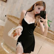 Fashion suit Summer of 2019 S,M,L black 18-25 years old Other / other 30% and below